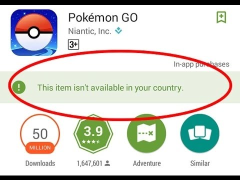Fix - This Item Isn't Available in Your Country (Google Play)
