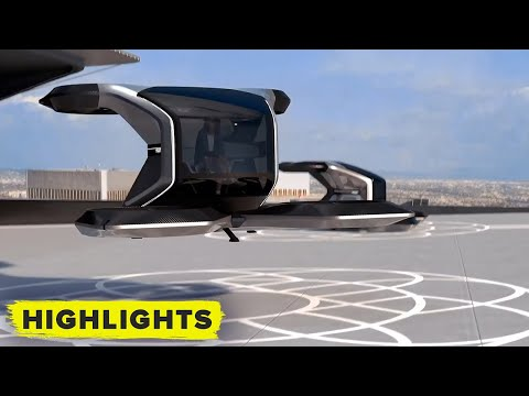 FLYING CAR! GM reimagines transportation! (Full eVTOL reveal)