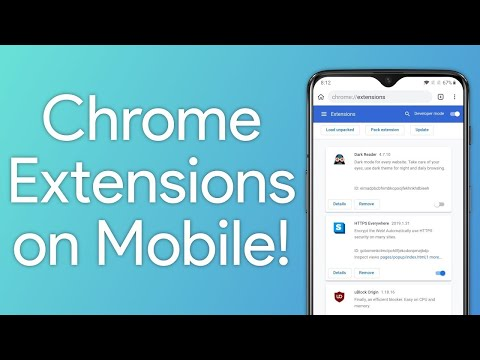 How to Install Chrome Extensions on Android Using Kiwi Chrome Browser?