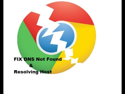 Fix- DNS Server Not Found or Resolving Host Error in Google Chrome