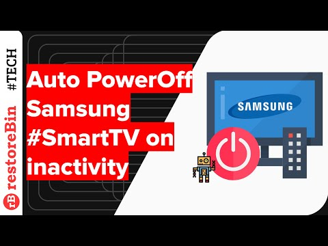 How to Auto Power Off Samsung Smart TV after hours of inactivity?