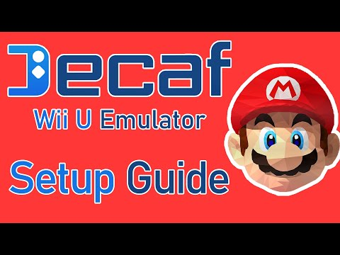 Decaf Emulator Setup Guide! | Wii U Emulation