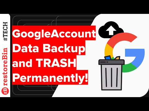 Google TakeOut Data Backup and Delete Gmail Account Permanently!