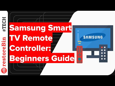 Samsung Smart TV Remote Controller - learn how to use it