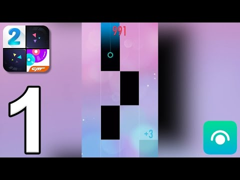 Piano Tiles 2 - Gameplay Walkthrough Part 1 - Songs 1-5 (iOS, Android)