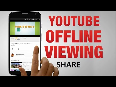 How to Share Offline Saved YouTube Videos (Android)?