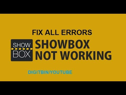 How to Fix All Errors and Bugs on ShowBox App?