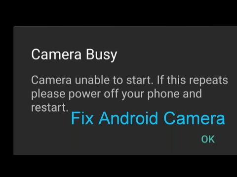 How to Fix 'Camera Busy' Error Android?