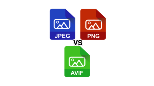 AVIF VS JPEG Vs PNG