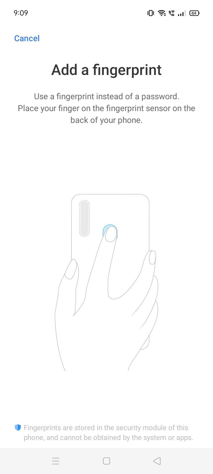 Add Fingerprint