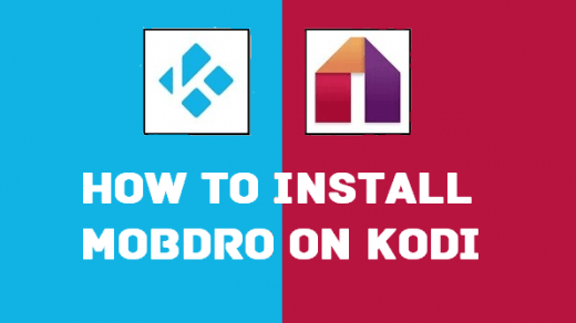Add Mobdro Add-On on Kodi