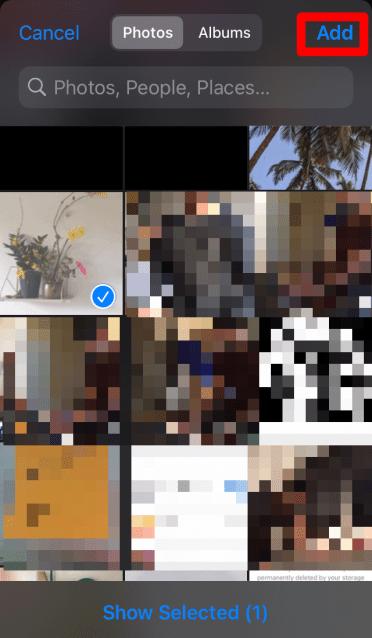 Add Photos