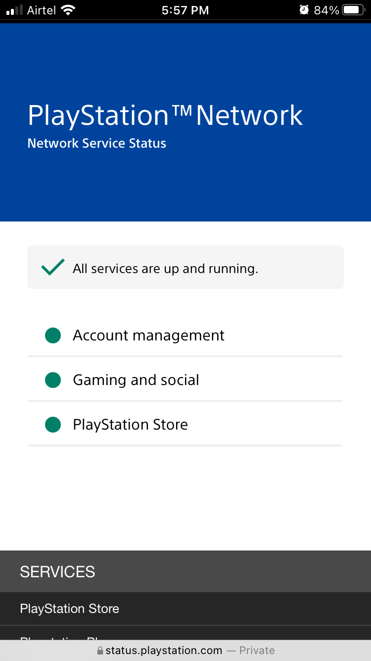 All services are up and active