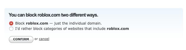 Always block Roblox roblox.com domain