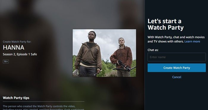 Amazon Prime Video Starts Watch Party in India