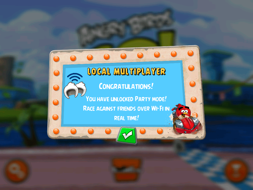Angry Birds Go Multiplayer Local