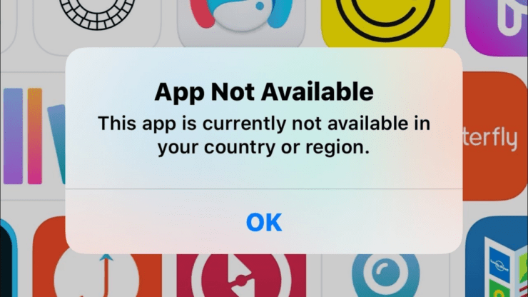 App Not Available iPhone and iPad Fix