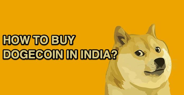 BUY DOGECOIN in INDIA