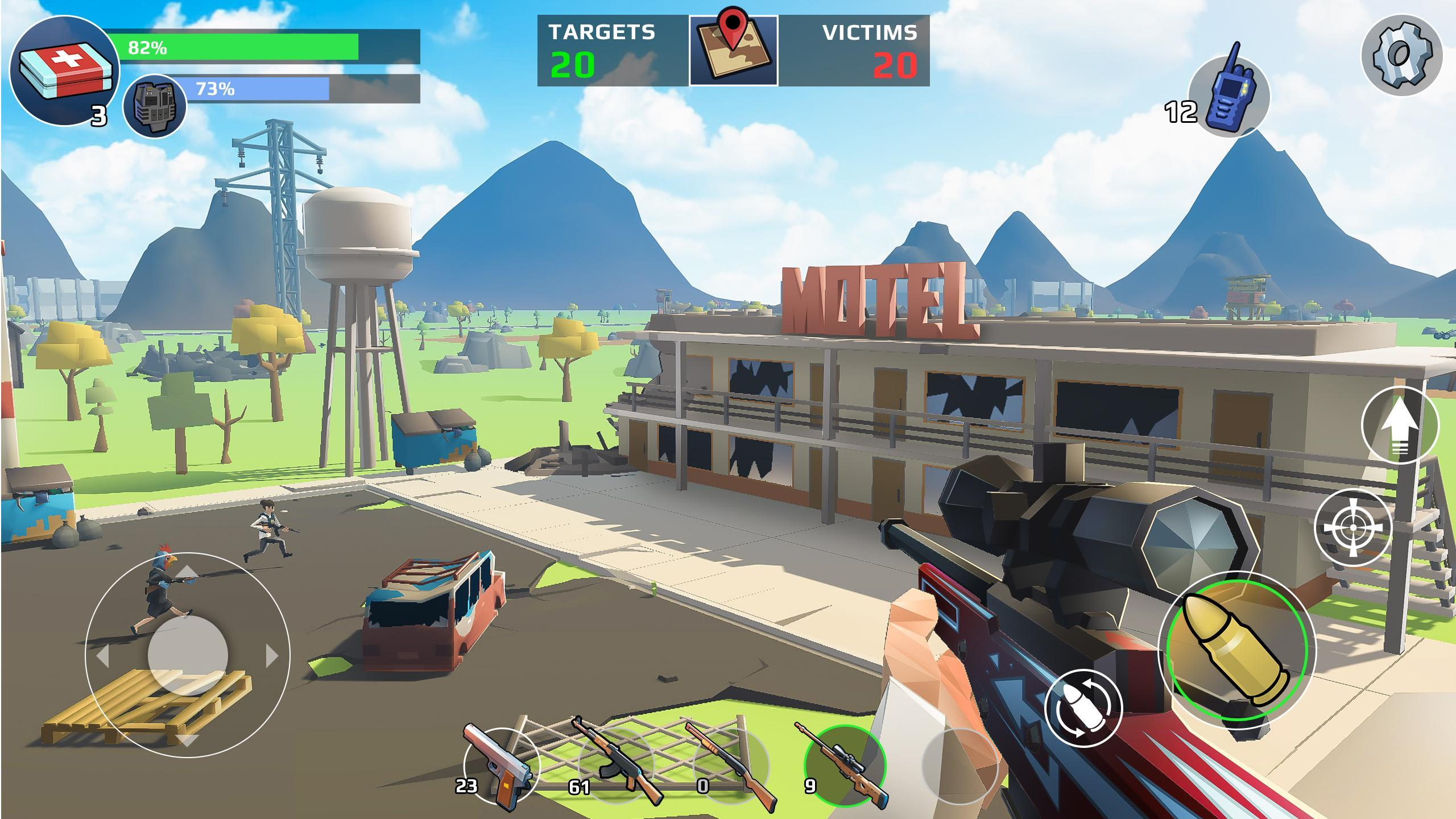 Battle Royale - The FPS Shooter