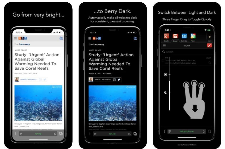 Berry Dark Browser