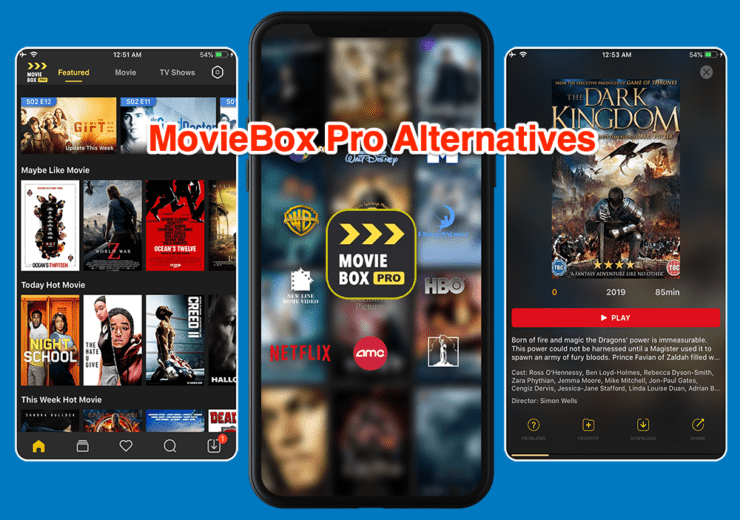 Best MovieBox Pro Alternatives