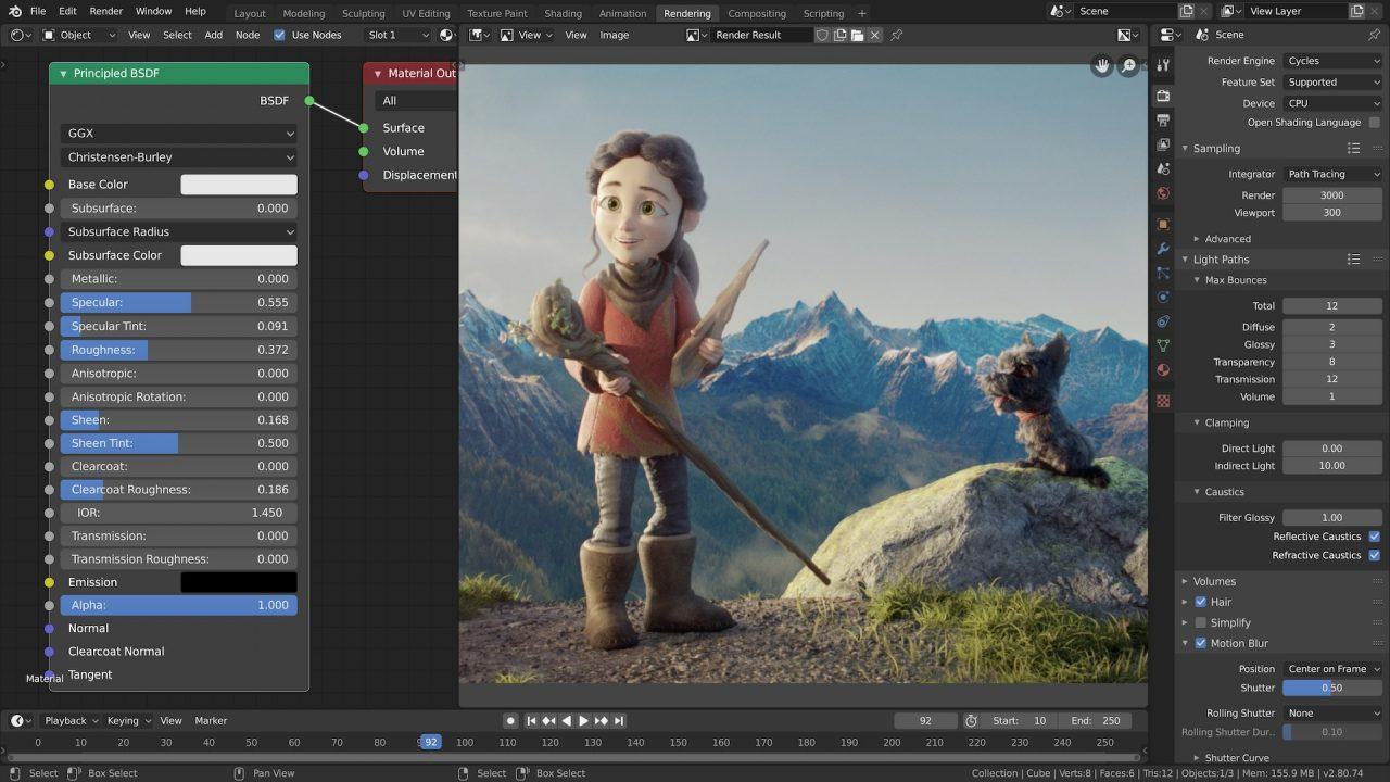 Blender Video Editor for YouTube