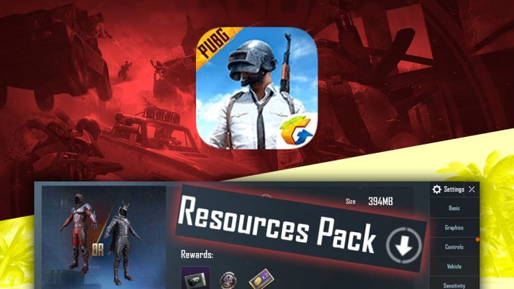 Block Resources pack Download PUBG Mobile