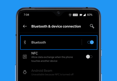 Bluetooth Connect Android to Stadia