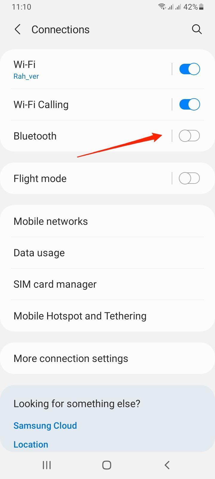 Bluetooth Samsung