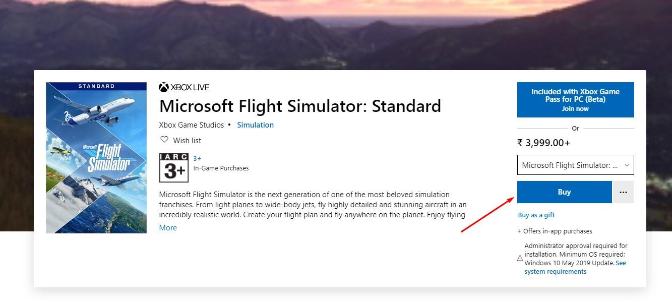 Buy Flight Simulator