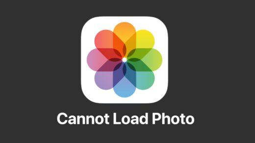 Cannot Load Photo iPhone Fix