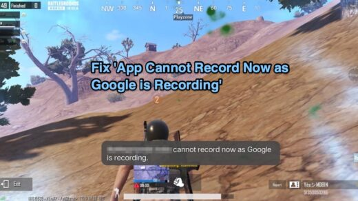 Cannot Record Now as Google is Recording Fix