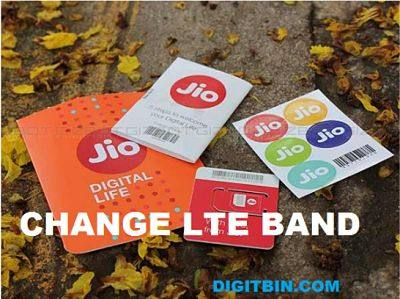 Change LTE 4G Band