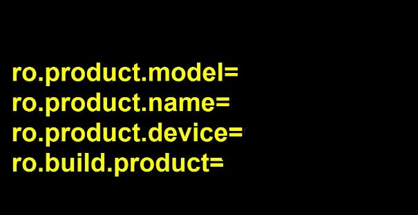 Change Model number