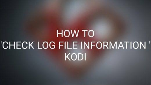 Check Log File Kodi