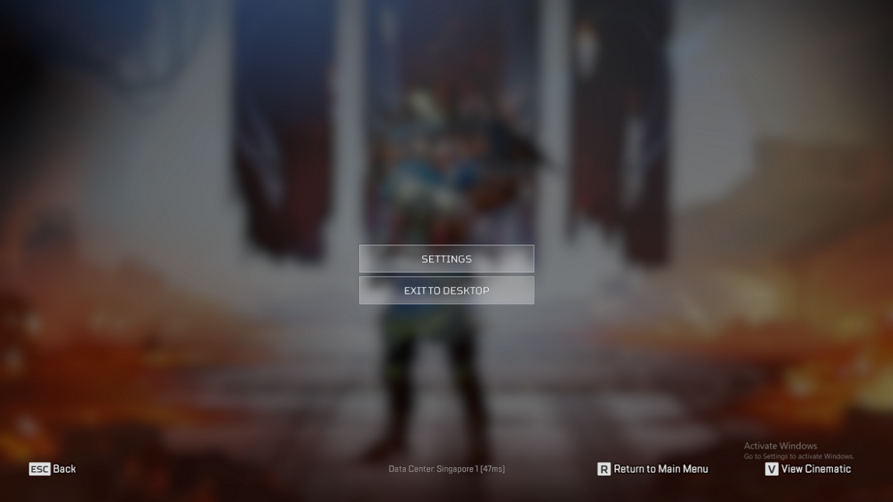"""Choose """"Settings"""" to continue"""