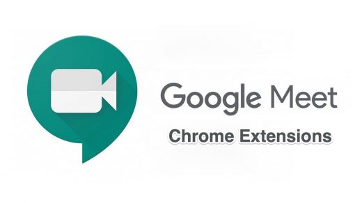 Chrome Extensions Google Meet