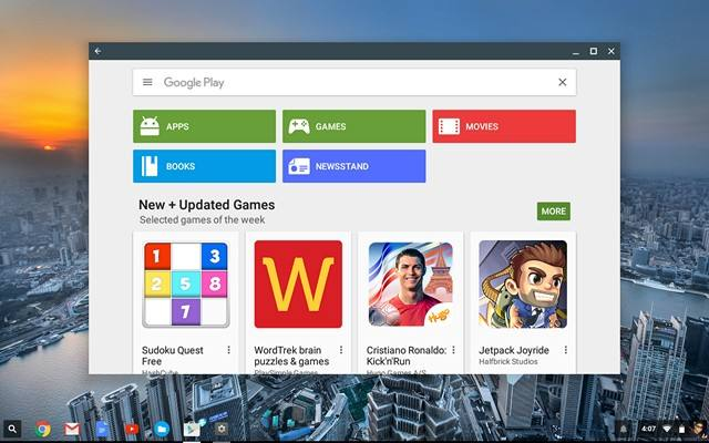 Chromebook Play Store