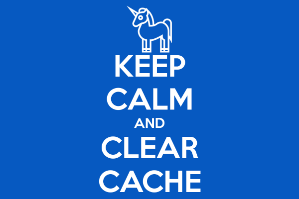 Clear Cache Chrome