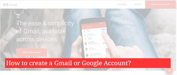 Create Google Account