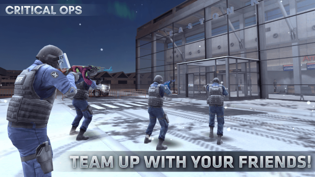 Critical Ops Multiplayer Ops