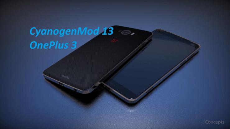 CyanogenMod 13 in OnePlus 3