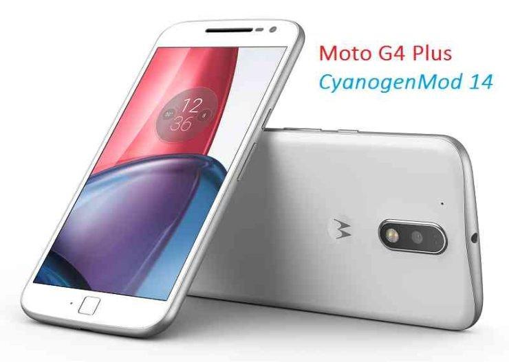 CyanogenMod 14 in Moto G4 Plus