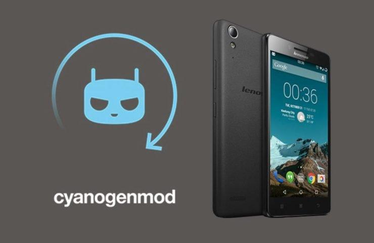 CyanogenMod Lenovo A2010