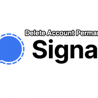 Delete Signal Account Permanent