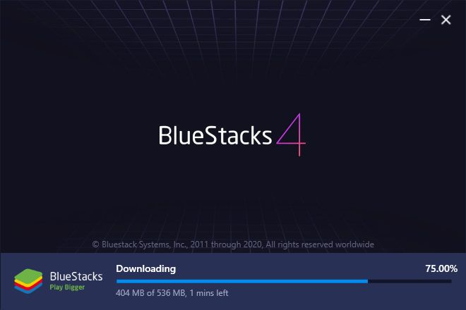 Download Bluestacks File