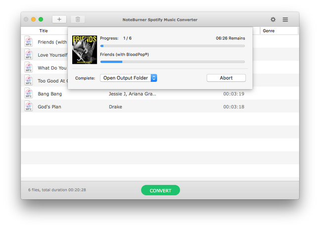 Download Music Spotify with Noteburner