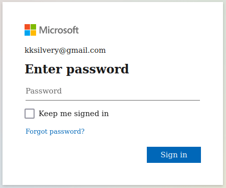 """Enter the password and then click on the """"Sign in"""" button"""