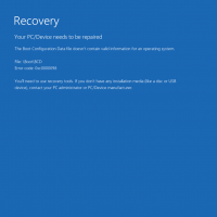 Error 0xc0000098 in Windows 10