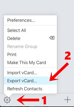 Export Files